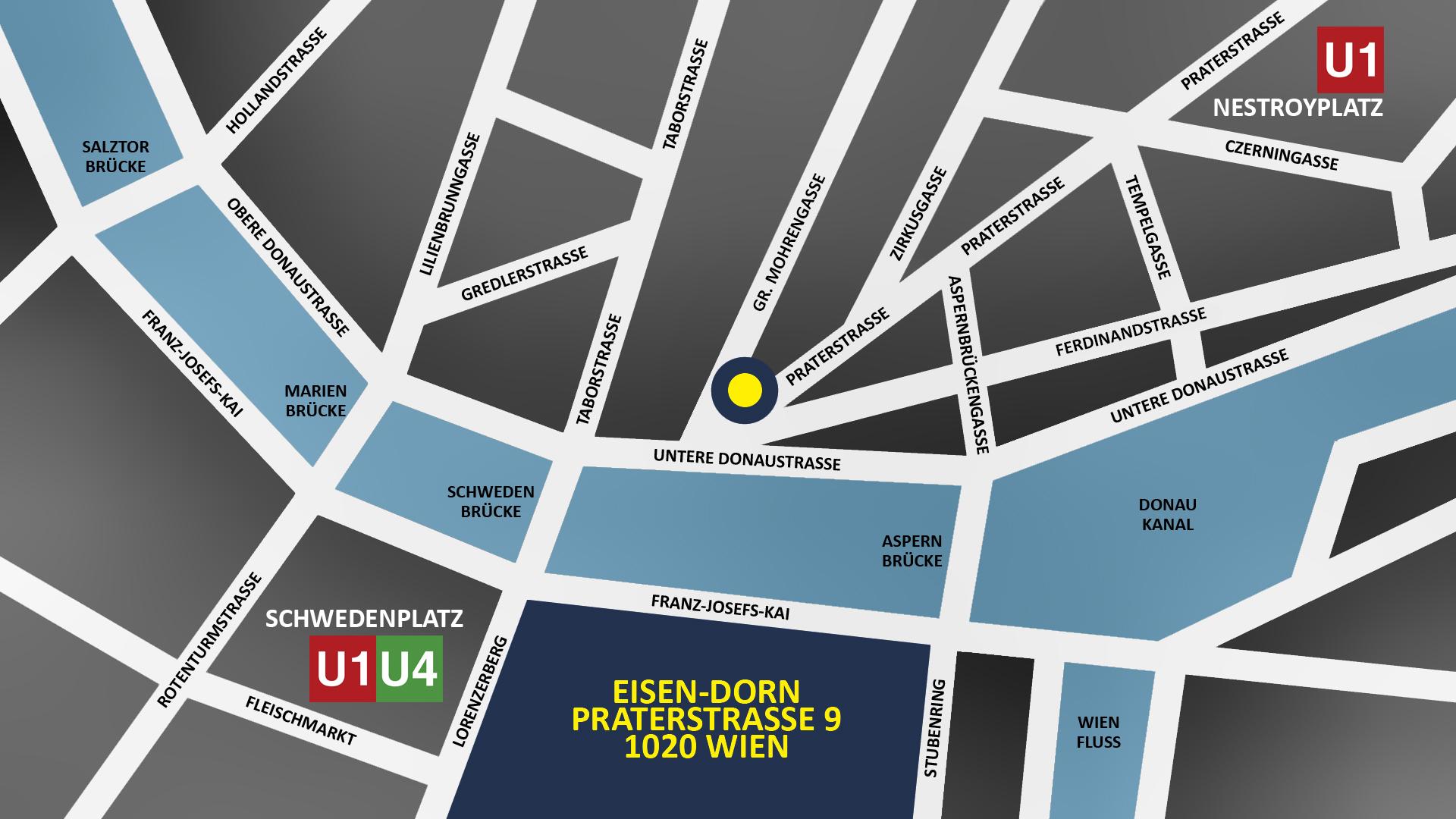 Map Eisen-Dorn